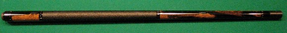 What a cue! Very unusual and beatuiful exotic wood! This cue is for a wood lover.