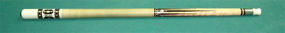 #950 Circa 1990 8-point of Ebony 12.7mm Very Good condition