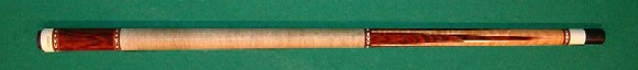 Four cocobolo point cue. (USED)  Two shafts. Very good condition. Just try its Ultra joint hitting!